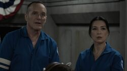 Coulson and May worried for the Zephyr