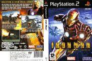 Iron Man PS2 EU Box