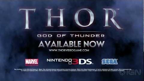 Thor God of Thunder 3DS Trailer