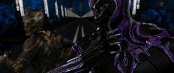Black Panther (film) BPvsKillmonger-Subway
