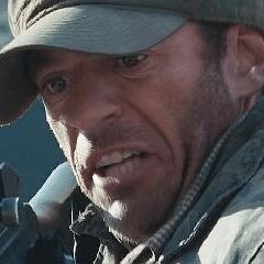 Mark Wagner como Terrorista de Gulmira