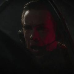 Jarvis dispuesto a derribar a Stark.