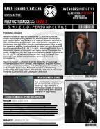 Natasha Romanoff File