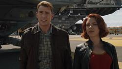 Steve Rogers meets Natasha Romanoff
