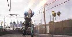 Danvers ataca al Skrull