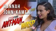 Hannah John-Kamen at Marvel Studios' Ant-Man and The Wasp Premiere