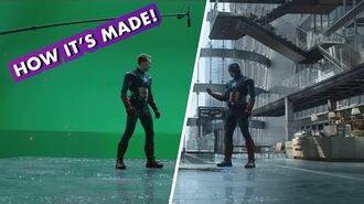Marvel Studios' Avengers Endgame — Making the Cap vs. Cap fight!