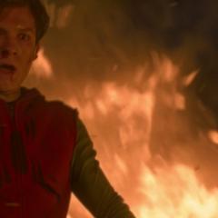 Parker tras salvar a Toomes.