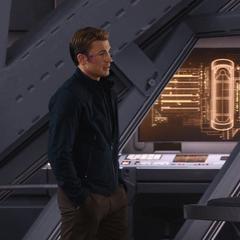 Rogers y Barnes se refugian en Wakanda.