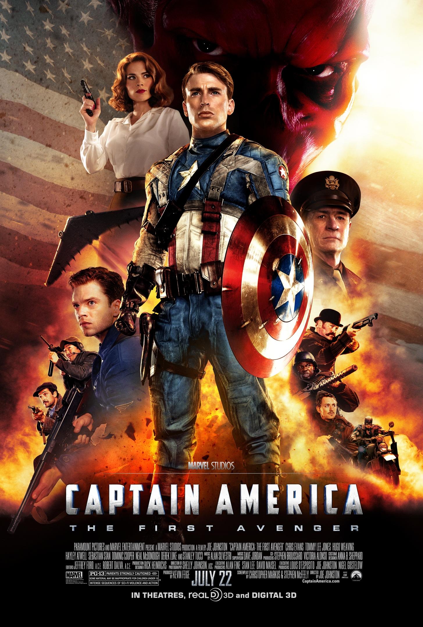 marvel film captain america