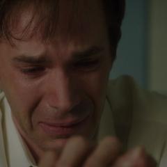 Jarvis desconsolado por el estado de Ana.