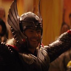Thor es adorado por su gente durante el evento.