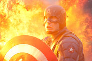 Captain America First Avenger Fire