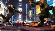 Hulk vs. Abomination (Times Square)