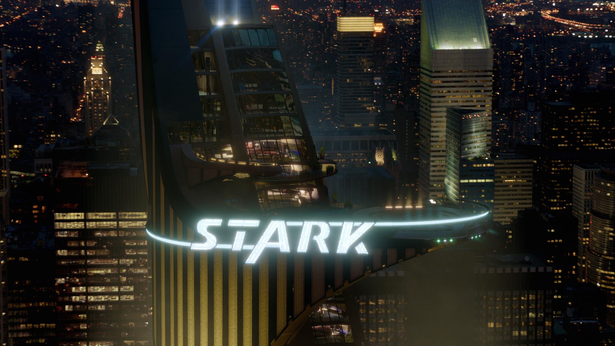 Lighting Of Stark Tower