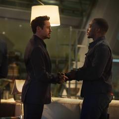 Stark conoce a Wilson.