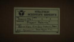 SSR Project Rebirth - Agent Carter 1x01