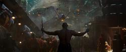 Drax listo para luchar