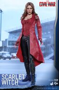Scarlet Witch Civil War Hot Toys 1