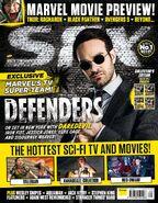 Defenders Daredevil SFX cover
