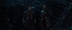 Iron Spider Man & Iron Man (Q-Ship)