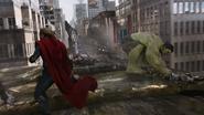Thor & Hulk vs. Leviathan