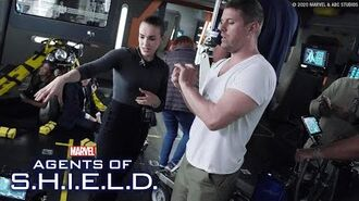 Behind the Scenes of Marvel's Agents of S.H.I.E.L.D. with Elizabeth Henstridge!