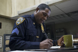 OfficerMahoney-WritingPaperwork