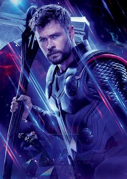 Avengers Endgame - Póster sin texto Thor