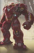 Avengers Infinity War Hulkbuster concept art 3