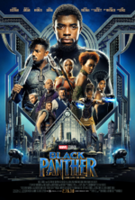 Black Panther Poster Octubre 2017