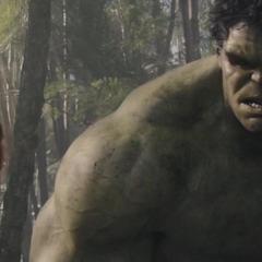 Hulk se incorpora a la Batalla de Sokovia.