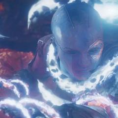 Nebula es atrapada por Ego.