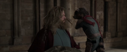 Rocket slaps Thor