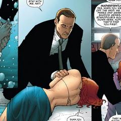 Romanoff es salvada por Coulson.