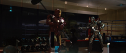 Mark IV vs. Mark II (Iron Man 2)