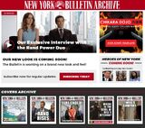 New York Bulletin/Promotional Campaign
