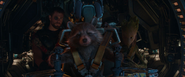 Thor, Rocket, & Groot (Farewell & Good Luck Morons)