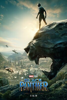 Black Panther SDCC Poster