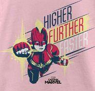 Captmarvel higher futher faster