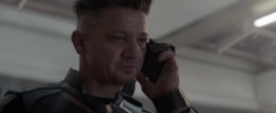 Hawkeye getting a call 5