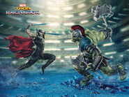 Thor Ragnarok promo 1