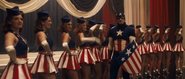 Captain America & his Dancers