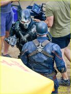 Civil War set photo 22