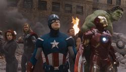 El equipo de Los Vengadores en Nueva York