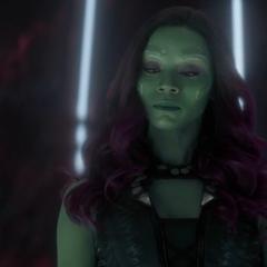 Gamora le cree a Nebula de 2023.