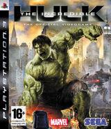 Hulk PS3 EU cover