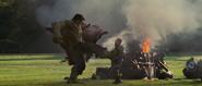 Hulk kicks Blonsky