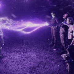 Los Guardianes se unen para matar a Ronan.