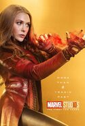 Scarlet Witch 10th Anniversary Poster